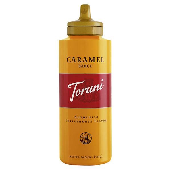 Caramel Sauce From Torani (16.5 Oz Squeeze Bottle)