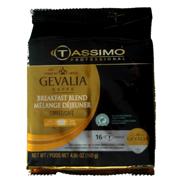 Breakfast Blend Tassimo T-Discs From Gevalia