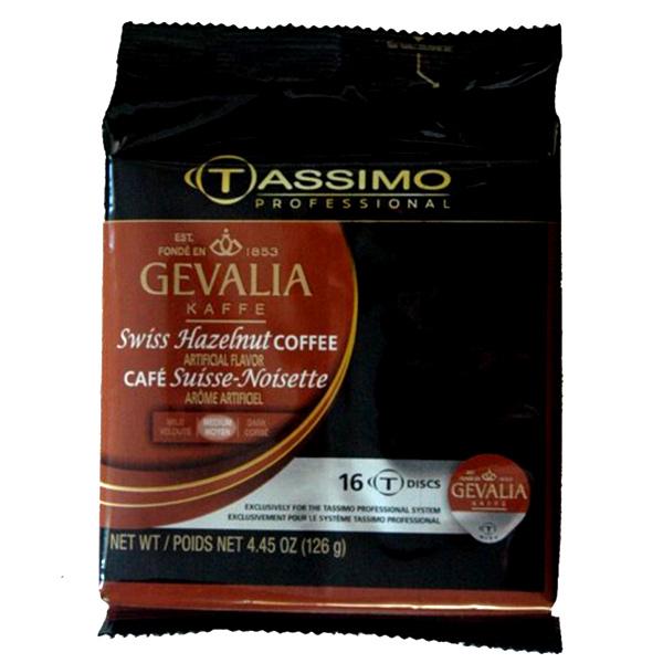 Swiss Hazelnut Tassimo T-Discs From Gevalia
