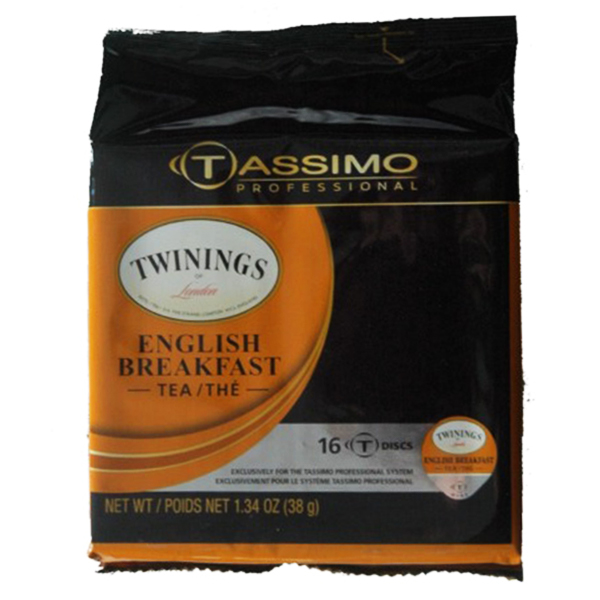 English Breakfast Tassimo T-Discs From Twinings