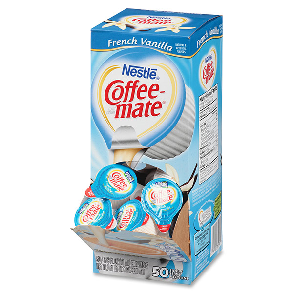 Coffee-mate French Vanilla Singles From Nestlé