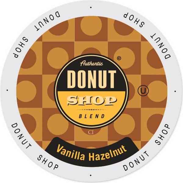 Vanilla Hazelnut From Authentic Donut Shop