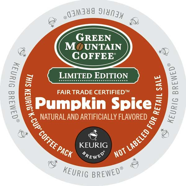 Pumpkin Spice Seasonal From Green Mountain