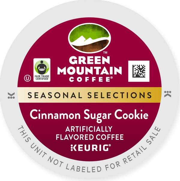 Cinnamon Sugar Cookie From Green Mountain