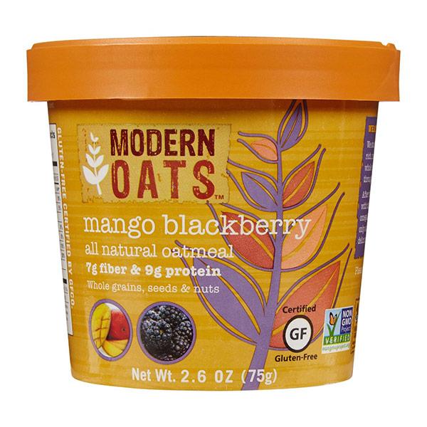 Mango Blackberry Instant Oats From Modern Oats