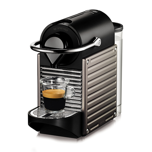 PIXIE OriginalLine Capsule Brewer – Black From Nespresso