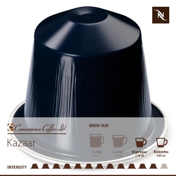KAZAAR Capsules From Nespresso