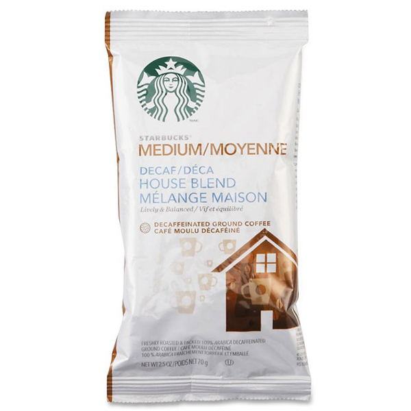 House Blend Decaf 2.5 Oz Ground, Drip Coffee From Starbucks