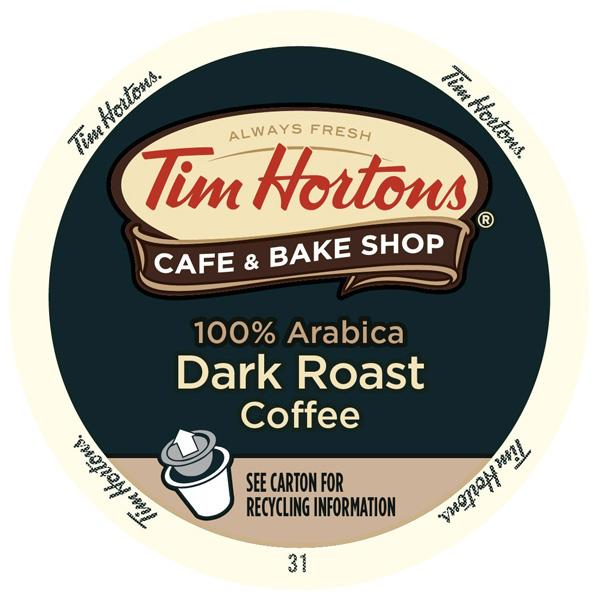 Dark Roast From Tim Hortons