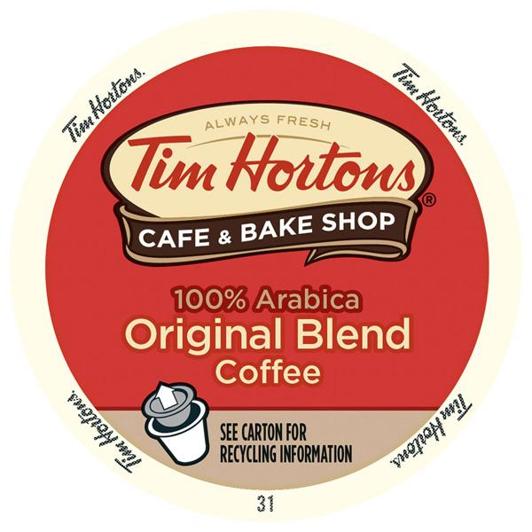 Original Blend From Tim Hortons
