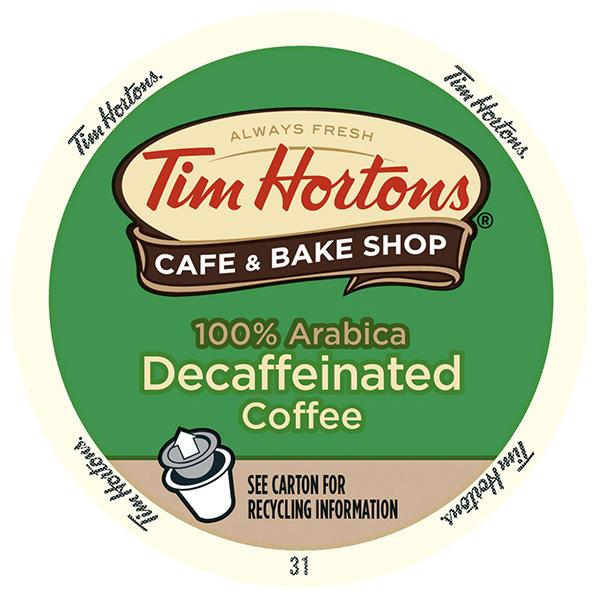 Original Blend Decaf From Tim Hortons