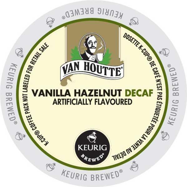 Vanilla Hazelnut Decaf Coffee By Van Houtte