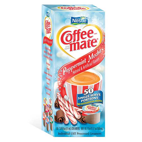 Coffee-mate Peppermint Mocha Singles From Nestlé