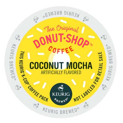 Coconut Mocha From The Original Donut Shop