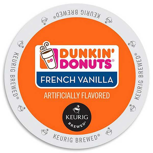 French Vanilla From Dunkin' Donuts