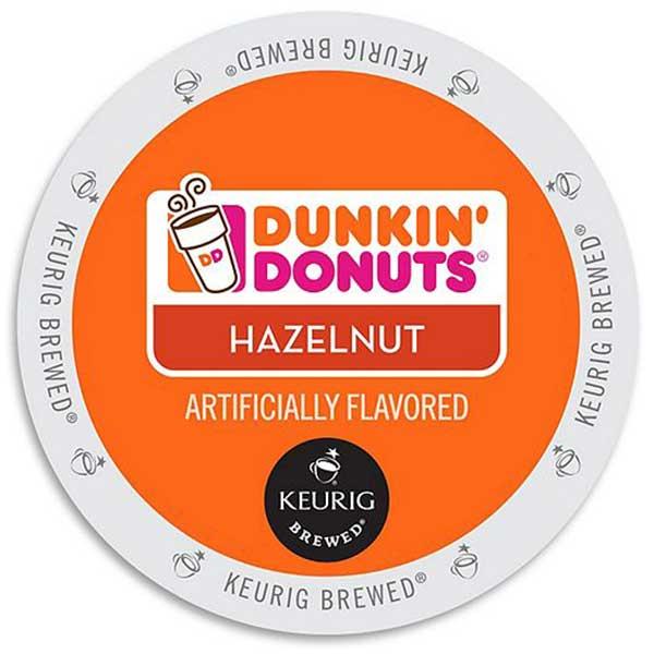 Hazelnut From Dunkin' Donuts