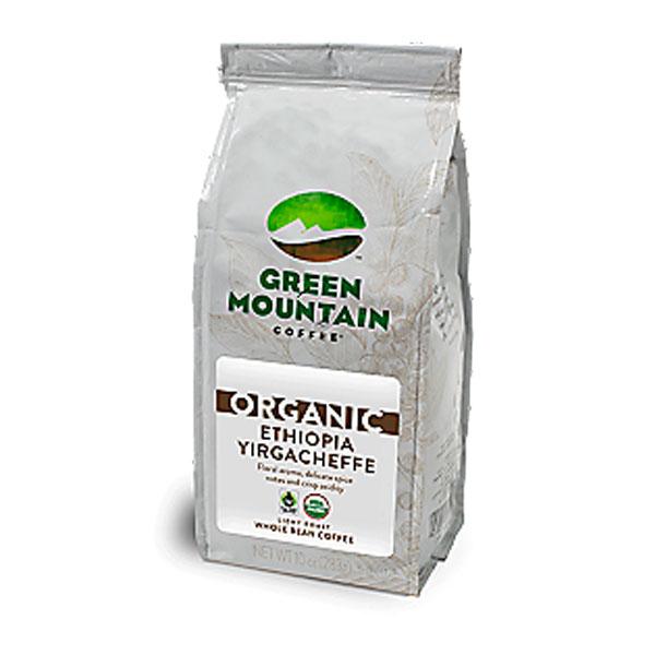 Organic Ethiopian Yirgacheffe From Green Mountain (whole Beans)