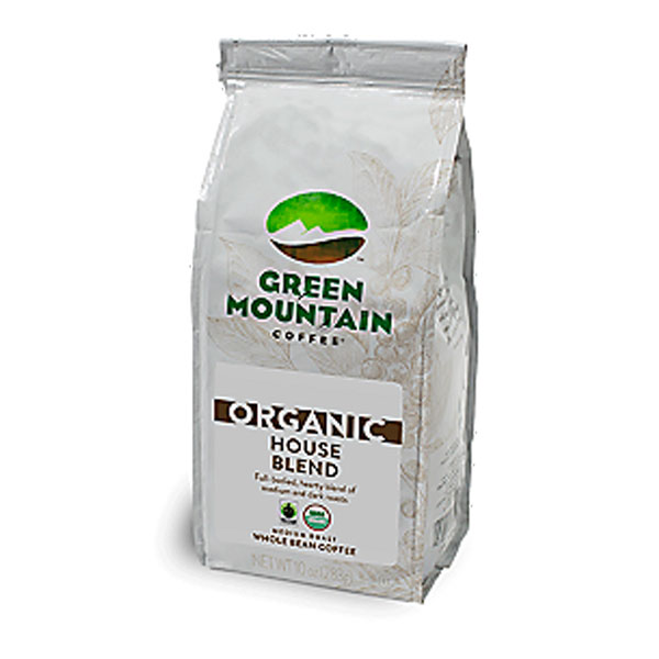 Organic House Blend From Green Mountain (whole Beans)