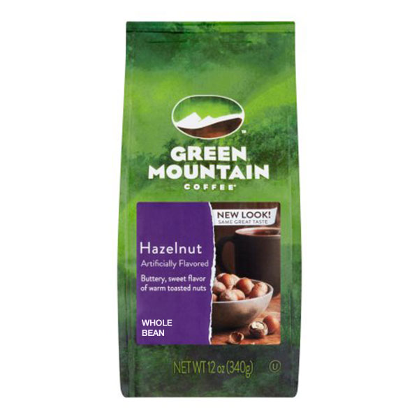Hazelnut From Green Mountain (whole Beans)