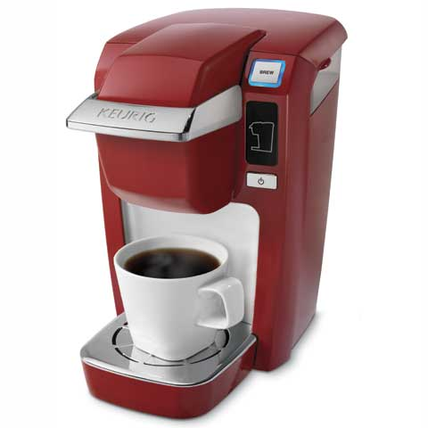 MINI Plus K10 K-Cup Brewer (Red) From Keurig