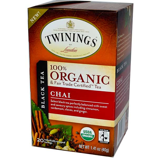 Chai Organic Tea From Twinings