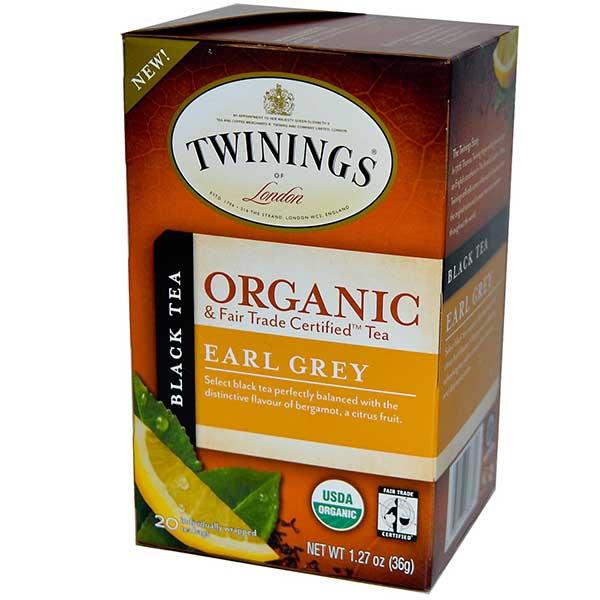 Earl Grey Organic Tea From Twinings