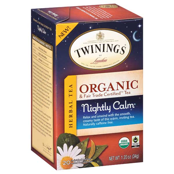 "Chamomile ""Nightly Calm"" Organic Green Tea From Twinings"