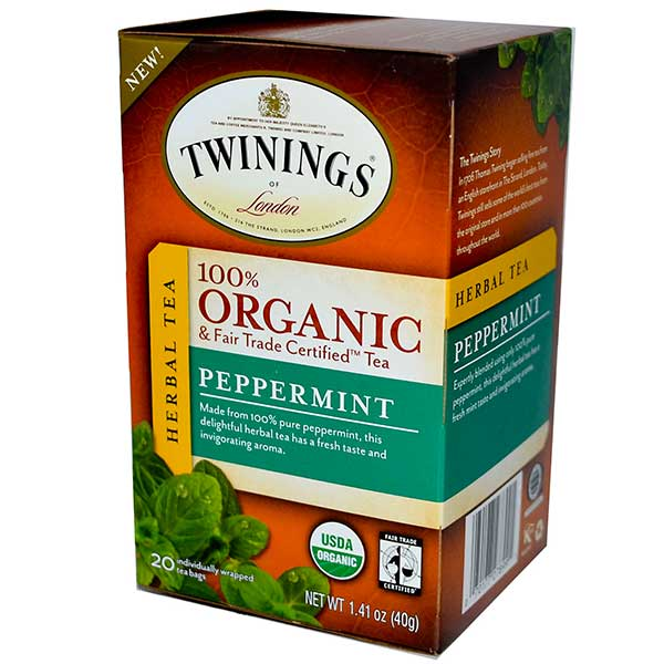 Peppermint Organic Tea From Twinings