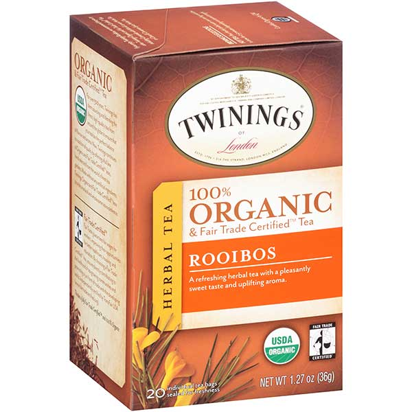 Rooibos South African Organic Tea From Twinings